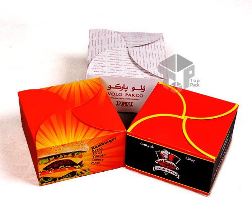 جعبه همبرگر