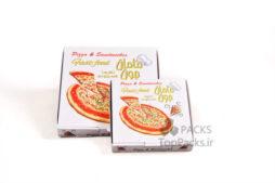 نمونه جعبه پیتزا