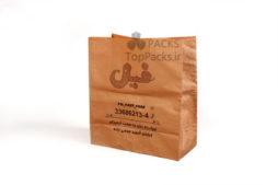 نمونه پاکت بسته بندی