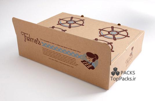 بسته بندی خلاقانه شیرینی