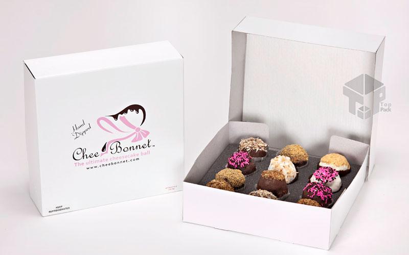 جعبه و بسته بندی شیرینی و کیک