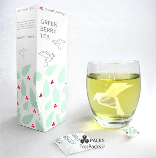 بسته بندی جالب چای
