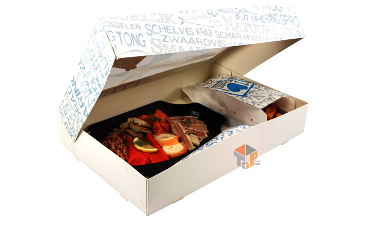 جعبه مقوایی غذا