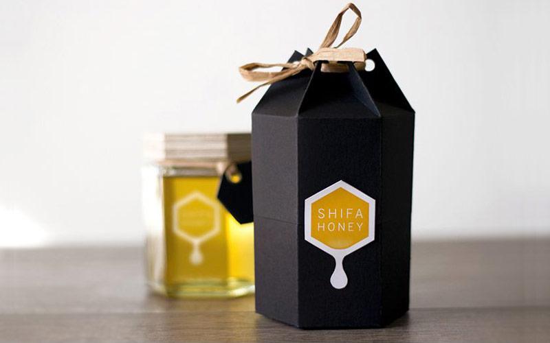 بسته بندی عسل-جعبه عسل صادراتی