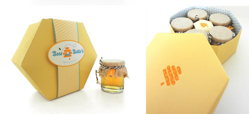 جعبه عسل شش ضلعی