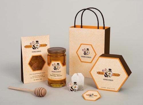 پک بسته بندی عسل