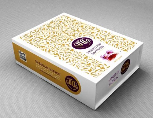 جعبه هارد باکس زعفران شیک و کادویی