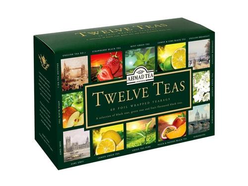 جعبه چای تی بگ چند طعم