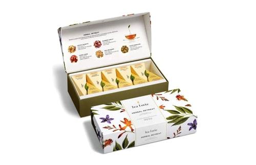 جعبه چای لاکچری و هدیه سفید