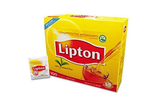 جعبه چای لیپتون