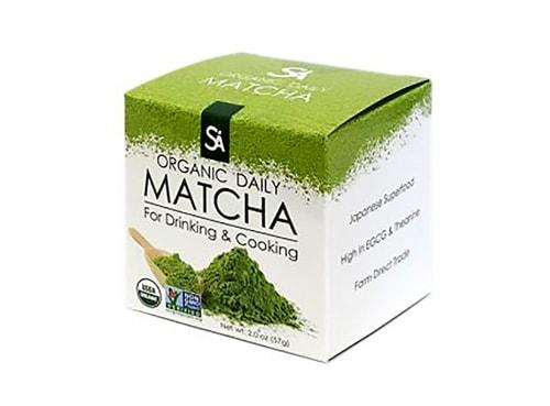 جعبه چای ماچا