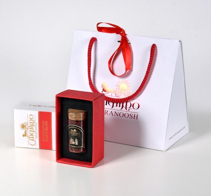 پاکت خرید زعفران برای هدیه