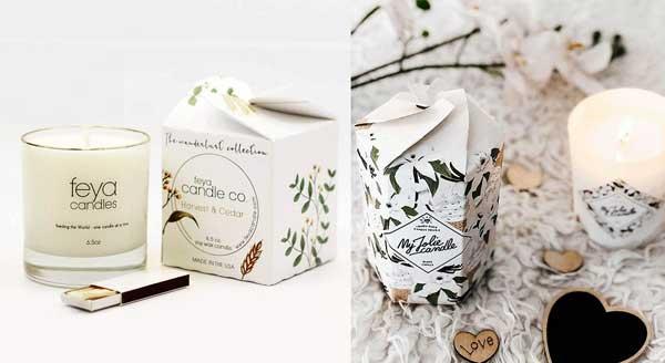 بسته بندی شمع خاص