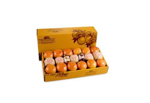 جعبه پرتقال نارنجی
