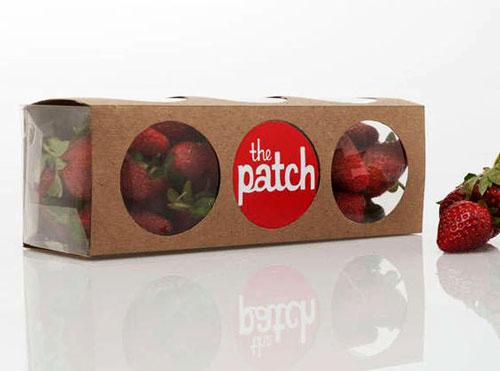 کاور جعبه کرافت برای صادرات توت فرنگی