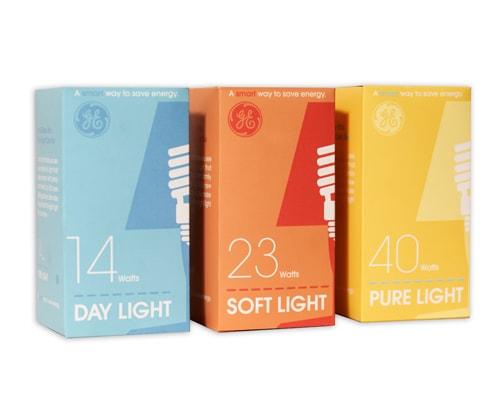 جعبه ساده لامپ رنگی