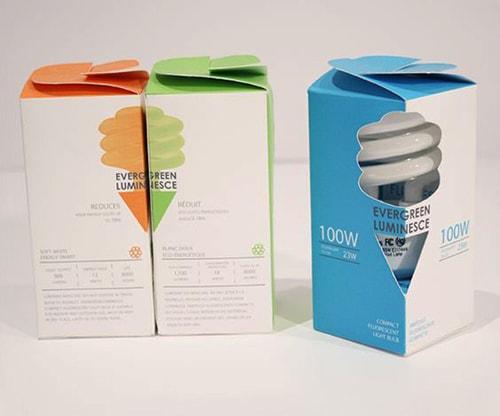 جعبه لامپ پنج ضلعی