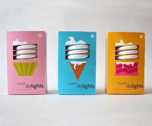 جعبه لامپ کم مصرف پنجره ای