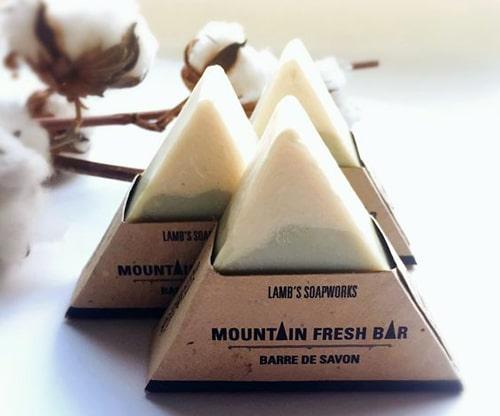 کاور کرافت صابون مثلثی