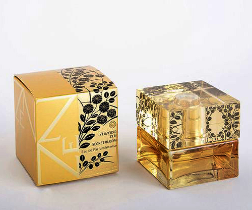 بسته بندی ادکلن طلایی