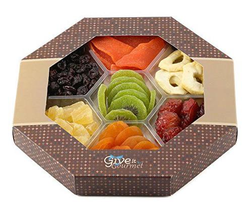 جعبه میوه خشک پنجره ای شش ضلعی